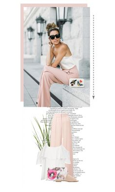 """Elegant Sunday"" by dorotha ❤ liked on Polyvore featuring Miss Selfridge, BB Dakota, Ted Baker, Mansur Gavriel, outfit, ootd, Elegant, inspiration and women"