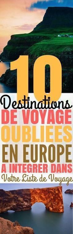 Amazing Would not you like to go somewhere different to change? There are many places in Europe that only need to be explored! Europe Destinations, Holiday Destinations, Voyager Seul, Las Vegas, Destination Voyage, Gap Year, France Travel, France Europe, Travel List