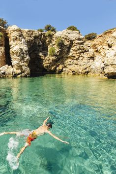exploring the clear waters off the Greek islands of Paros from a traditional caique fishing boat, by Adrienne Pitts #greece #paros #competition