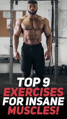 Check out these top 9 exercises that will help you achieve insane muscle growth! Photo Credit: GYMSHARK #fitness #exercise #workout #gym #muscle #bodybuilding #fit #fitfam