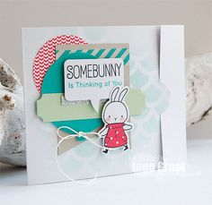 Patterned Paper : Somebunny, BB Somebunny