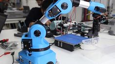 Niryo One: A New Robot Arm for Makers