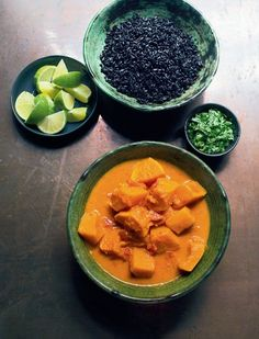 Butternut squash & sweet potato curry - Nigella Lawson At My Table Yummy Recipes, Veggie Recipes, Indian Food Recipes, Vegetarian Recipes, Cooking Recipes, Savoury Recipes, Turkish Recipes, Top Recipes, Coffee Recipes