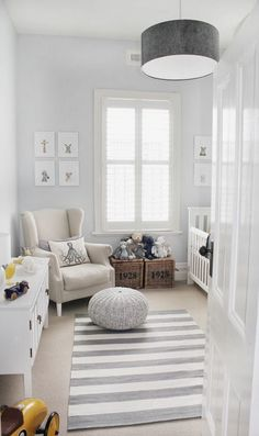 Nursery: Grey Interior