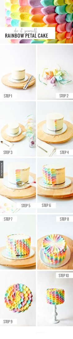 Regenbogen-Traumkuchen *__* (Fancy Cupcake Recipes)