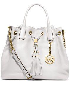 cce442eab4f657 MICHAEL Michael Kors Camden Large Drawstring Satchel & Reviews - Handbags &  Accessories - Macy's