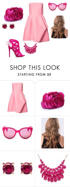 """Babble gam"" by nastya-anas-mikheeva on Polyvore featuring мода, Halston Heritage, WithChic, Havaianas, Thomas Sabo и Alexa Starr"