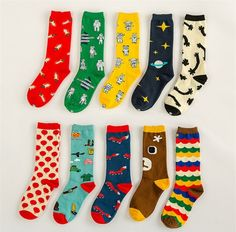 Various Cartoon Socks from BangGood