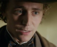 "Tom Hiddleston as William Buxton. ""I Love you...Will you please be my?"""