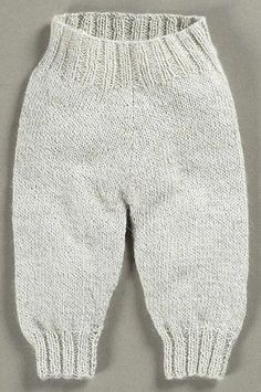 Bukser i glatstrik - Børn - Susie Haumann