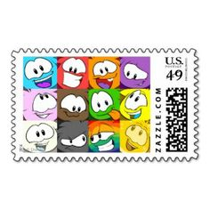 Puffle Expressions Postage