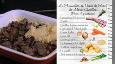 Le Parmentier de queue de bœuf de Marie-Christine http://www.france3.fr/emissions/les-carnets-de-julie/recettes/le-parmentier-de-queue-de-boeuf-de-marie-christine_229145