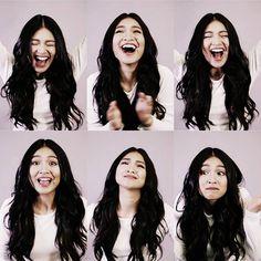 Cuteness overload of ate Nadine Lustre Nadz Lustre, Filipina Girls, Filipina Beauty, Beauty Around The World, Jadine, Celebs, Celebrities, Beautiful Asian Girls, Woman Face