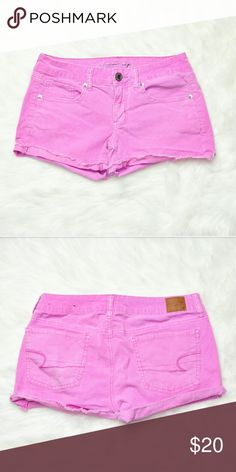 American Eagle Pink Shorts In excellent condition! Very comfortable, lightweight, and stretchy! Buy 3 items and get 1 free plus 15% off your purchase total! American Eagle Outfitters Shorts