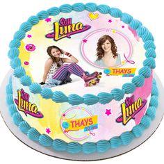 soyluna Soy Luna Cake, Girly, Design Girl, Son Luna, Birthday Cake, Desserts, Food, Disney, Pastries