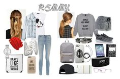 """""""#Rebby"""" by allisjess ❤ liked on Polyvore featuring Natasha Accessories, Markus Lupfer, RVCA, Alexander Wang, Keds, Casetify, Marc Jacobs, Ficcare, NIKE and Herschel Supply Co."""