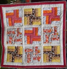 Another jelly roll quilt