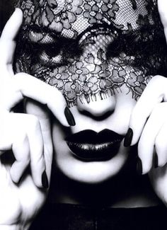 black lace & lips