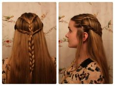 braided elf hairstyle