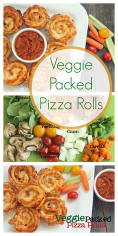Veggie Packed Pizza Roll Recipe | Healthy Ideas for Kids
