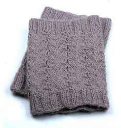 Waves Bootcuff - Knitting Patterns and Crochet Patterns from KnitPicks.com