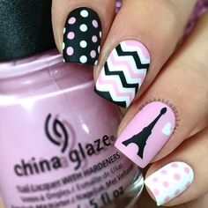 Hey guys here is the video of my Paris Nails  Sorry I didn't posted before cause I was very busy  But is better later than never right?  I used @whatsupnails Eiffel Tower stickers and Stencils  Skinny Zigzag Tape. You can get 10% off using my code SENSATIONAILS4U10  @chinaglazeofficial Something sweet  White on white  @opi_products Black onyx  Matte top coat  @glistenandglow1 Hk Girl top ✨coat  SongThe Feeling By Justin Bieber ft Halsey
