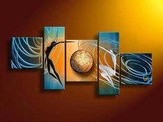 Abstract Art of Love, Love Abstract Painting, Living Room Wall Painting, 5 Piece Canvas Painting, Abstract Art on Canvas Living Room Canvas Painting, Canvas Paintings For Sale, Modern Art Paintings, Contemporary Artwork, Modern Wall Art, Paintings Online, Buy Paintings, Wall Paintings, Online Painting
