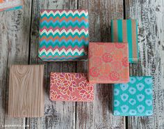 free printable wrapping paper. So beautiful and she also has coordinating free printable gift tags.
