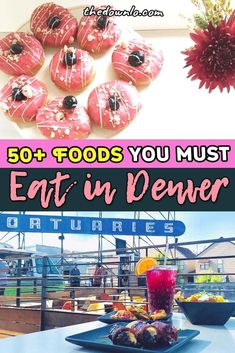 Your Essential Colorado Food Bucket List - 50 Things You Must Eat and Drink in Denver Usa Travel Guide, Travel Usa, Travel Tips, Budget Travel, Travel Advice, Travel Guides, Travel Stuff, Beach Travel, Canada Travel