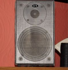 Rox (Gale) 3010s diminutive monitors in black with mesh grills in silver bargain #RoXGale
