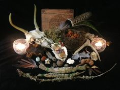 Altars, shrines, and other sacred spaces from all traditions and spiritual paths.