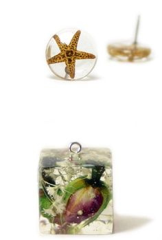 Handmade botanical jewellery.