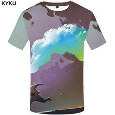 a0b9a058bb5 KYKU Brand Rock Band T shirt Kiss Top T-shirts Tops T shirts Shirts Women