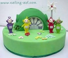 Image result for teletubbie cake ideas