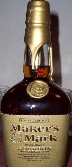 Maker's Mark Limited Edition Gold Wax. Has anybody actually tasted any of this?