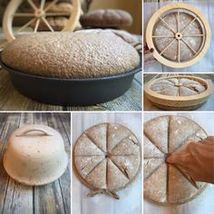 Baking Bread with the Romans: Part III – The Panis Strikes Back Roman Bread Recipe, Greek Recipes, Italian Recipes, How To Make Bread, Food To Make, Roman Food, Medieval Crafts, Ancient Recipes, Time To Eat