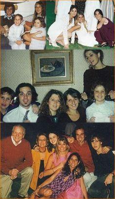 Prinses Máxima met (stief)familie en vrienden 1986-2000