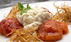 Receta de Brandada de bacalao con tomates asados