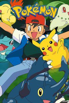Pokemon Go, Pokemon Guide, Green Pokemon, Pokemon Poster, Cute Pokemon, Pokemon Cards, Owl Tattoo Drawings, Cute Pikachu, Pokemon Birthday