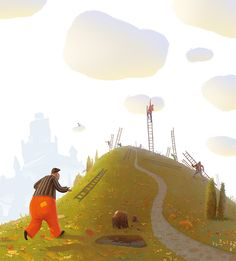 Children book illustation | Gediminas Pranckevicius Art
