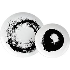 Modern Dinnerware and Unique Dinnerware Sets Modern Dinnerware, Dinnerware Sets, White Dinnerware, Black And White Abstract, Contemporary Ceramics, All Gifts, Organic Shapes, Inspirational Gifts, Interior Design Inspiration