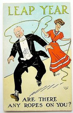 30-Day Special! LEAP YEAR Are There Ropes on YOU? Postcard