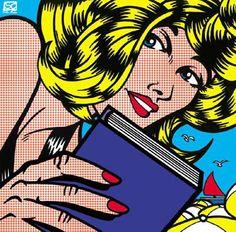 A arte pop de Roy Lichtenstein ! Images Pop Art, Pop Art Pictures, Art Pics, Roy Lichtenstein Pop Art, Illustration Pop Art, Illustrations, Pop Art Fotos, Comic Books Art, Comic Art