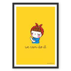 Poster we can do it de @adonadabolsinha | Colab55