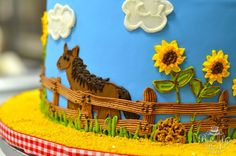 Wild West Cake by Beverly's Best Bakery