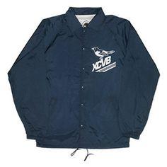 XCVB - Birdy Coach Jacket - Navy || #streetwear #tees  #fashion #menswear #summer #independent #clothing #designer #hiphop #skateboarding