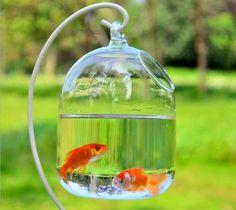 Mount Bubble Aquarium Fish Tank Hanging Glass Plant Vase Home Decoration Glass Aquarium, Aquarium Fish Tank, Wall Aquarium, Vase Fish Tank, Unique Fish Tanks, Glass Fish Bowl, Plant Breeding, Bubble, Decoration Plante