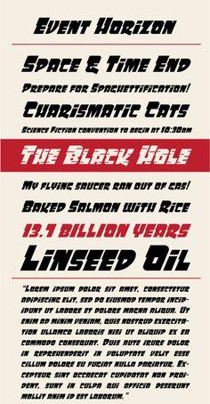 Event Horizon Type Specimen