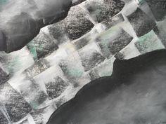 """Jakobshavn Isbrae"" by Steven de Ciantis, 2010. Pastel on paper, 30cm x 42cm. From my Glacial Art series."