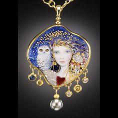 Mona и Alex Szabados: украшения с ювелирной эмалью - Ярмарка Мастеров - ручная работа, handmade